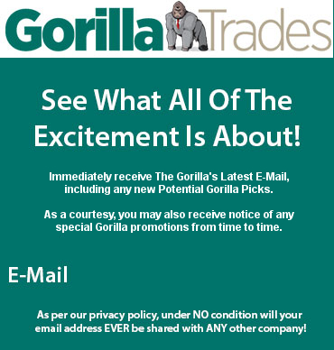 Gorilla Trades stock pick emails