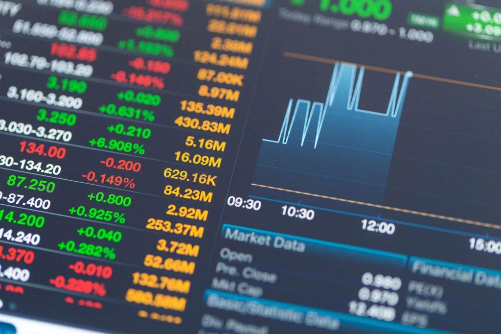 looking at stocks